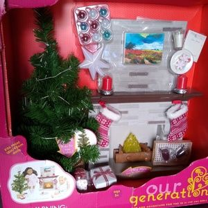 Our Generation Holiday Accessory Set